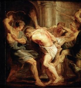 Flagellation jésus Rubens