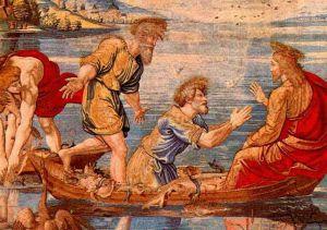 jésus barque Pechemiraculeuse.VanAelst