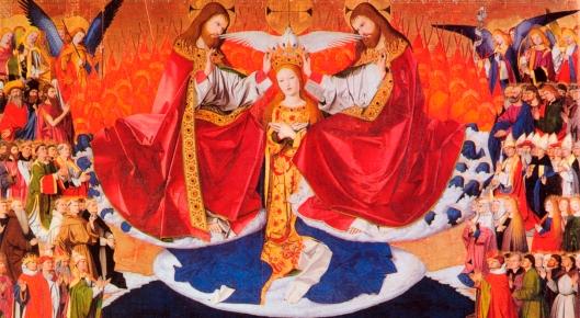 couronnement marie cieux trinité