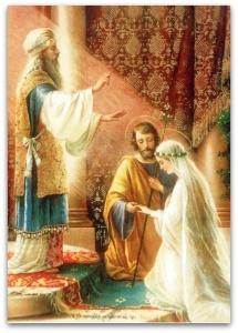 Sexe, drogue et idoles : La Vierge Marie met en garde les jeunes... Mariage_of_mary__joseph__3