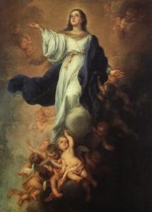 Rituel satanique blasphématoire prévu le jour de l'Assomption de Marie Marie-assomption_de_la_vierge_marie_par_murillo