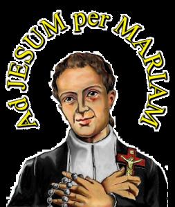 'Ad Jesum per Mariam' devise du Père de Montfort (1)