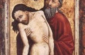 jésus souffre