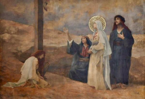 marie-crucifixion
