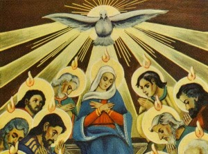 L'effusion de grâce à venir : Une Nouvelle Pentecôte ! Feu-pentecote-esprit-saint