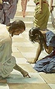 jesus-ecrit-sable