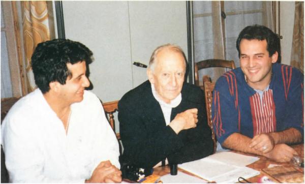 jose-luis-matheus-et-juan-antonio-gil-avec-labbe-rene-laurentin-paris-7-novembre-1994
