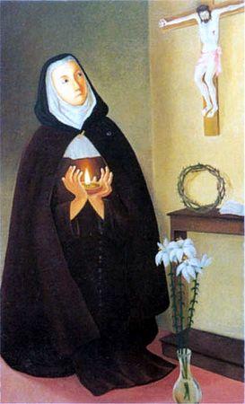 Rien de souillé n'entrera au Ciel ! Tout sur le Purgatoire... - Page 2 Sainte-vc3a9ronique-giuliani