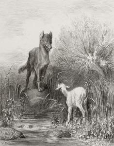 agneau-tombe