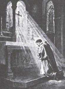 pretre-franciscan-in-prayer