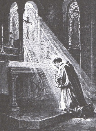 pretre-franciscan-in-prayer