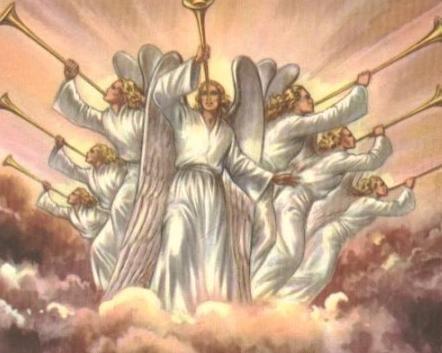 anges descend sur terre