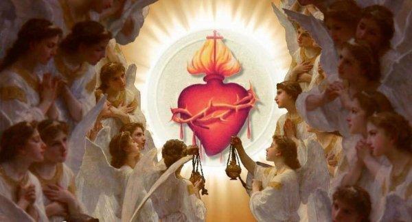 jésus coeur sang