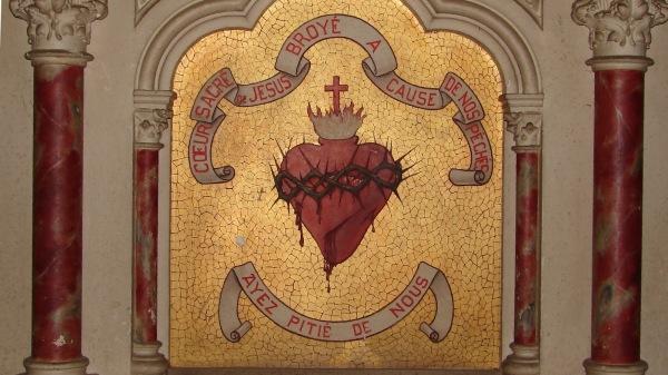 Coeur Sacré de Jésus, broyé à cause de nos péchés, ayez pitié de nous