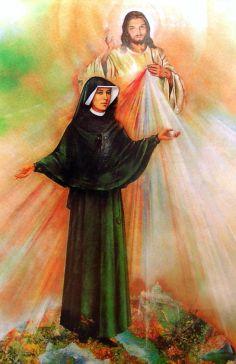 faustine et jésus miséricorde