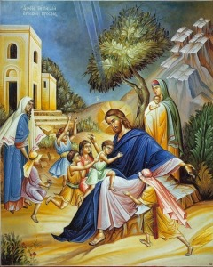 jésus CHRIST_AND_CHILDREN