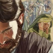 jésus dit adieux a sa mère marie