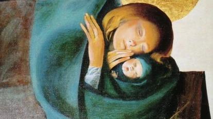 marie et bébé jésus