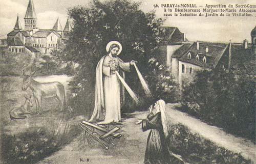 sainte marguerite -marie alacoque
