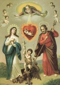 satan-sainte famille diable