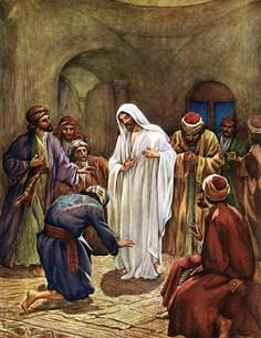 apparition de jésus aux apotres