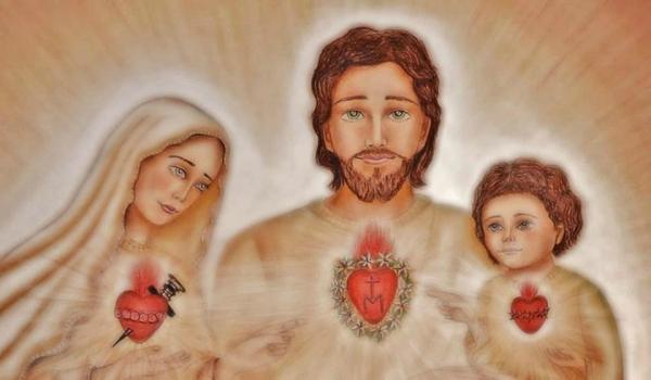 edson coeurs unis de Jésus marie Joseph