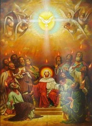 esprit saint cénacle