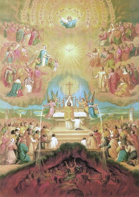 esprit-saint messe Santa-Missa-pintura