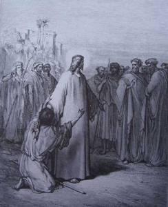 jésus guérit les malades