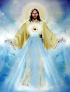jésus jaune beau miséricorde