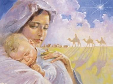 marie bébé jésus