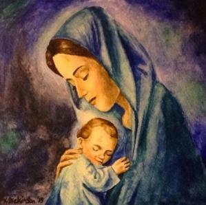 marie jésus bébé