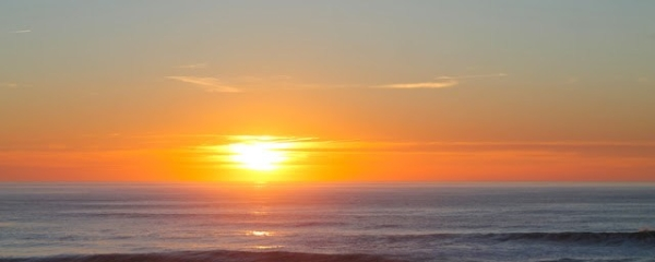 mer débordante Coucher de soleil Lacanau Océan Lacanau beach Sunset