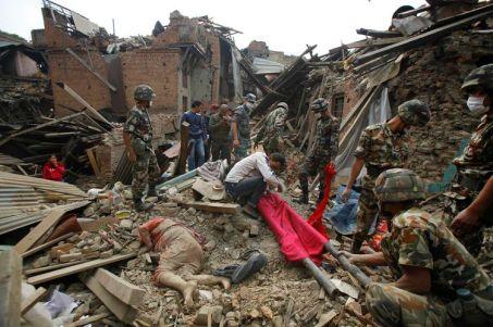 séisme nepal-bhadgaon-kathmandou