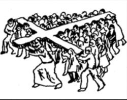 porter sa croix chaque jour