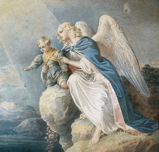 ange de la paix protecteur