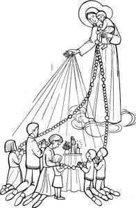 marie chapelet rosaire_en_famille