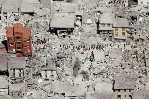 séisme italie 267 morts