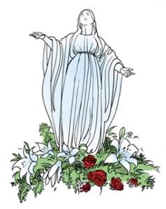 vierge marie l humilité