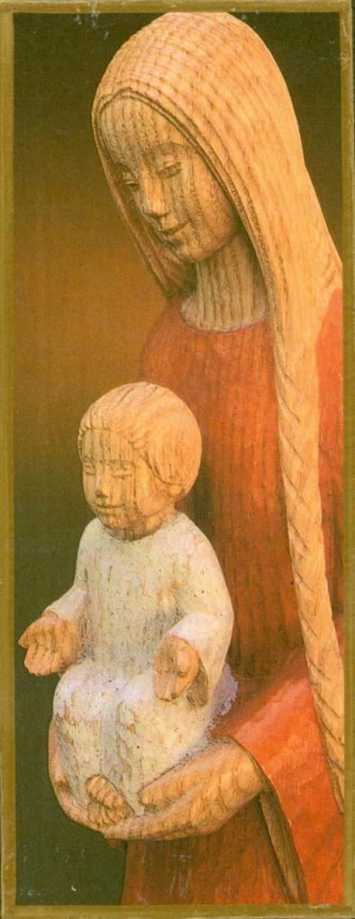 vierge marie et l enfant jesus