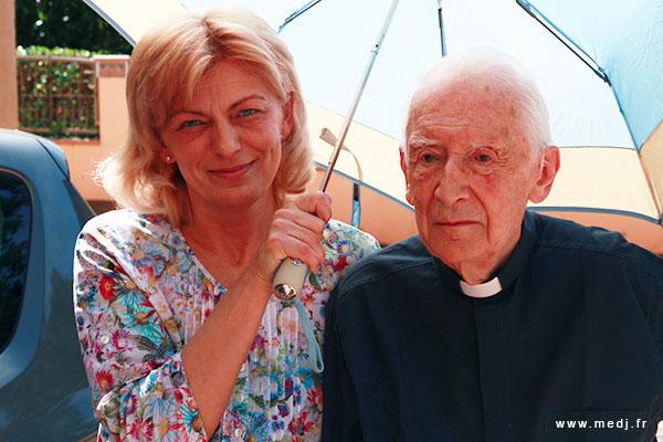 Mgr Laurentin a rejoint le Père le Dimanche 10 Septembre, à l'âge de 99 ans Laurentin-mirjana