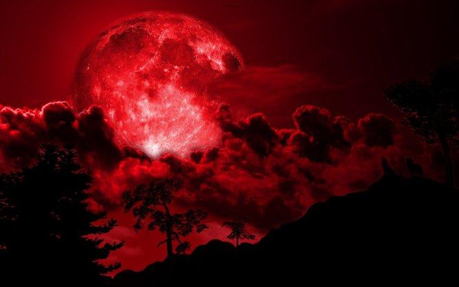 lune couleur sang avant l'avertissement
