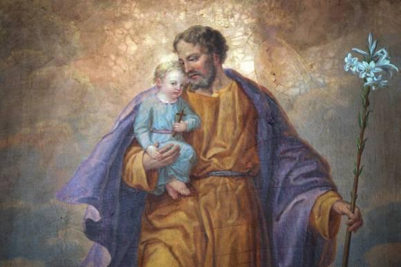 st joseph bébé jésus