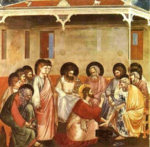 jésus Lavement-des-pieds-Giotto