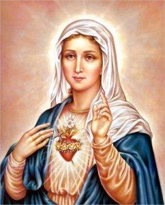 Marie coeur de l amour de Dieu1