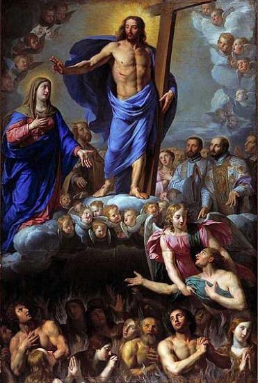 Novembre : Prions pour nos chers défunts les âmes du Purgatoire ! Ames-du-purgatoire