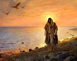 Le Père Paul de Moll, le saint guérisseur qui lisait dans les âmes... Jc3a9sus-marche-au-bord-de-l-eau