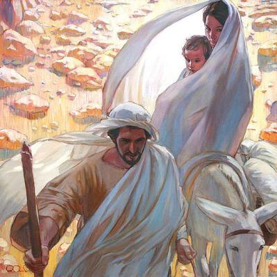 28 décembre : Fête des Saints Innocents : Ne les oublions pas ! Sainte-famille-jesus-marie-joseph