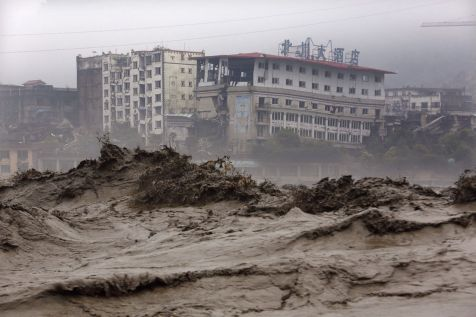 INONDATION CHINE Heavy-flood-waters
