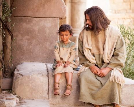 jésus aime enfant